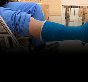 Лечение переломов без операции. Пластиковый гипс