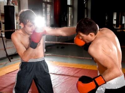 Плечевые суставы в боксе